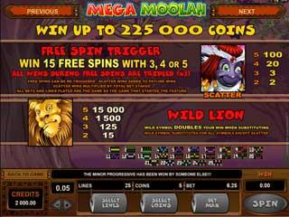 mega moolah slot wild lion topshopcasino
